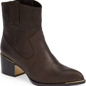 Rachel Zoe Women's Western Boot Booties Shoes Sz 7